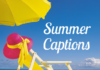 summer captions for instagram
