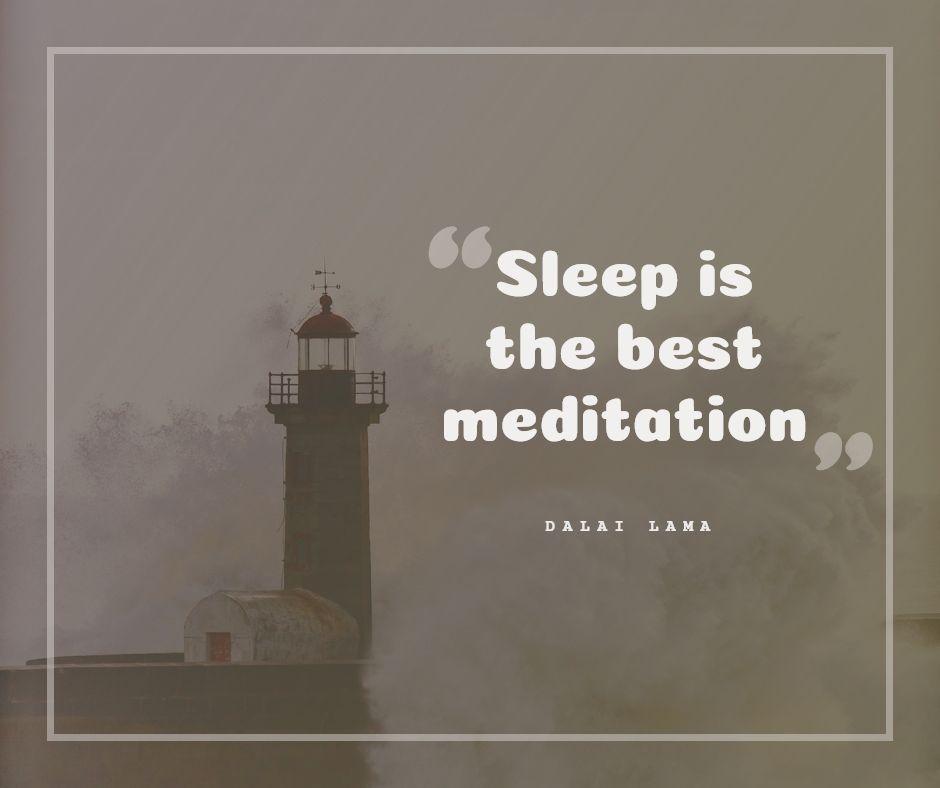 Sleep-is-the-best-meditation