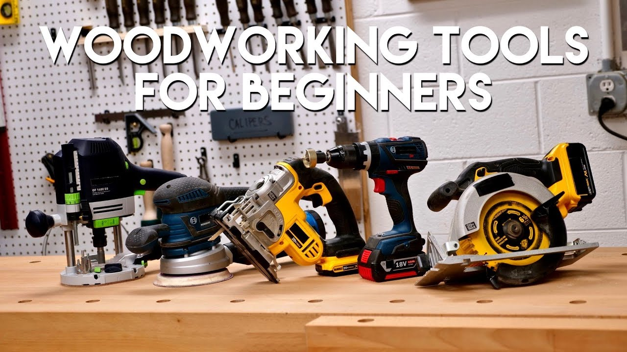 5 Must-Have Woodworking Tools For Beginners in 2020 - PMCAOnline