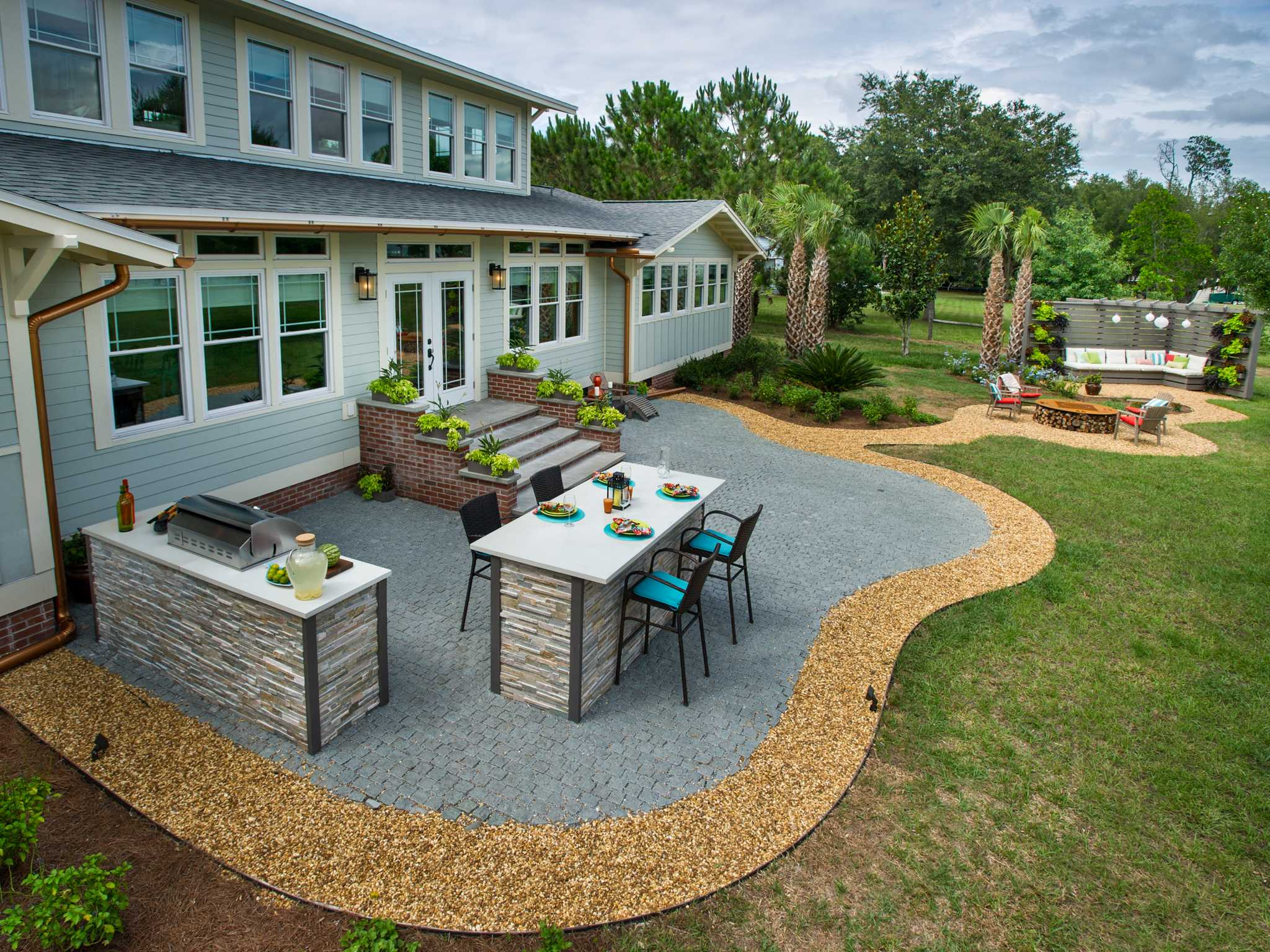 10 Inspiring Concrete Patio Ideas For Your Backyard 2020 Guide Pmcaonline