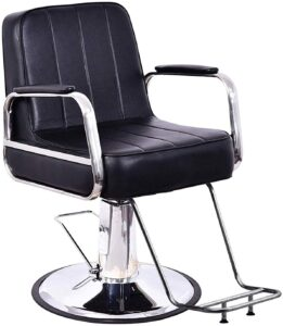 BarberPub Classic Styling Salon Chair